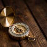 Kompass zeigt den Weg